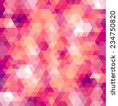 colorful geometric background | Shutterstock .eps vector #234750820