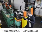 industrial machine for the... | Shutterstock . vector #234788863