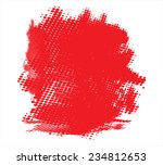 red halftone background.vector... | Shutterstock .eps vector #234812653