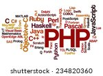 conceptual tag cloud containing ... | Shutterstock .eps vector #234820360