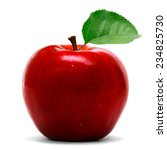 red apple | Shutterstock . vector #234825730