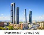 madrid  spain financial... | Shutterstock . vector #234826729