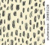 doodles scrabble seamless... | Shutterstock . vector #234851128