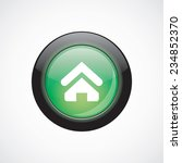 home glass sign icon green...