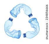 Recycle Symbol Made Of Used...