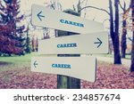 rural signboard with the word... | Shutterstock . vector #234857674