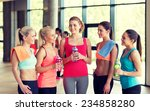 fitness  sport  training  gym... | Shutterstock . vector #234858280