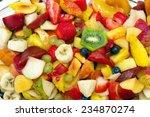 Fruit Cocktail Salad . Colorfu...