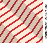 red and white lines abstract... | Shutterstock .eps vector #234875380