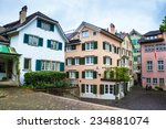 view of traditional houses in... | Shutterstock . vector #234881074