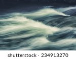 tall waves on the surface of... | Shutterstock . vector #234913270