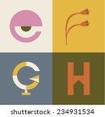 vector illustration icon set of ...   Shutterstock .eps vector #234931534