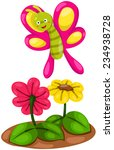 illustration of isolated cute... | Shutterstock . vector #234938728