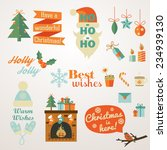 collection of christmas and new ... | Shutterstock .eps vector #234939130