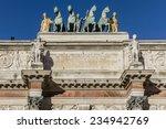 triumphal arch  arc de triomphe ... | Shutterstock . vector #234942769
