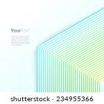 symbolic isometric parallel... | Shutterstock .eps vector #234955366