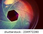 camera lens. retro stale. | Shutterstock . vector #234972280