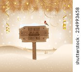 christmas background with... | Shutterstock .eps vector #234993658