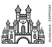 castle vintage | Shutterstock .eps vector #234994264