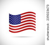 illustration of the flag of... | Shutterstock . vector #235023673