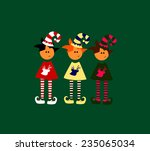 Cute Christmas Elves...