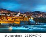 view of old castle fortaleza de ... | Shutterstock . vector #235094740