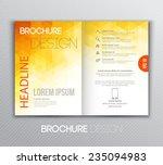 vector illustration abstract...   Shutterstock .eps vector #235094983