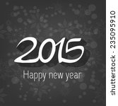 happy new year card | Shutterstock .eps vector #235095910