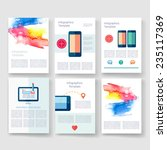 infographics  flyer and... | Shutterstock .eps vector #235117369