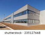 details of aluminum facade and... | Shutterstock . vector #235127668