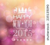vector  abstract christmas... | Shutterstock .eps vector #235135090