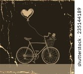 i love my bicycle | Shutterstock . vector #235144189