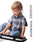beautiful baby. shot in studio. ... | Shutterstock . vector #23515219
