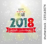 happy new year | Shutterstock . vector #235163074