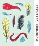 vector decoration graphics  set ... | Shutterstock .eps vector #235171618