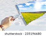 spring is coming  | Shutterstock . vector #235196680