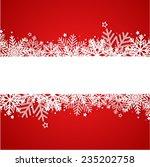 christmas background | Shutterstock .eps vector #235202758