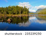 canadian river landscape | Shutterstock . vector #235239250