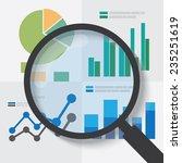 data analysis concept. eps10... | Shutterstock .eps vector #235251619