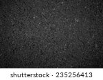 Black Road Texture
