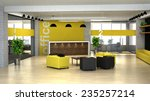3d rendering an interior of the ... | Shutterstock . vector #235257214