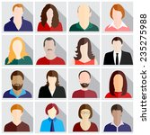 people icons | Shutterstock .eps vector #235275988