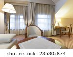 interior of a hotel room | Shutterstock . vector #235305874