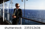 luxury life. portrait of the... | Shutterstock . vector #235312636