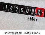 an electricity meter measures... | Shutterstock . vector #235314649