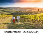 grape harvest  | Shutterstock . vector #235329034
