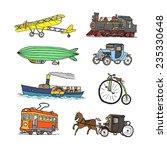 retro transport. old times.... | Shutterstock .eps vector #235330648