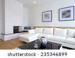 modern living room interior | Shutterstock . vector #235346899