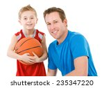 family  father and son ready to ... | Shutterstock . vector #235347220