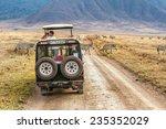 ngorongoro  tanzania   october... | Shutterstock . vector #235352029